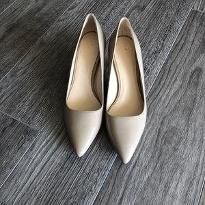 Nude heels from Ann Taylor